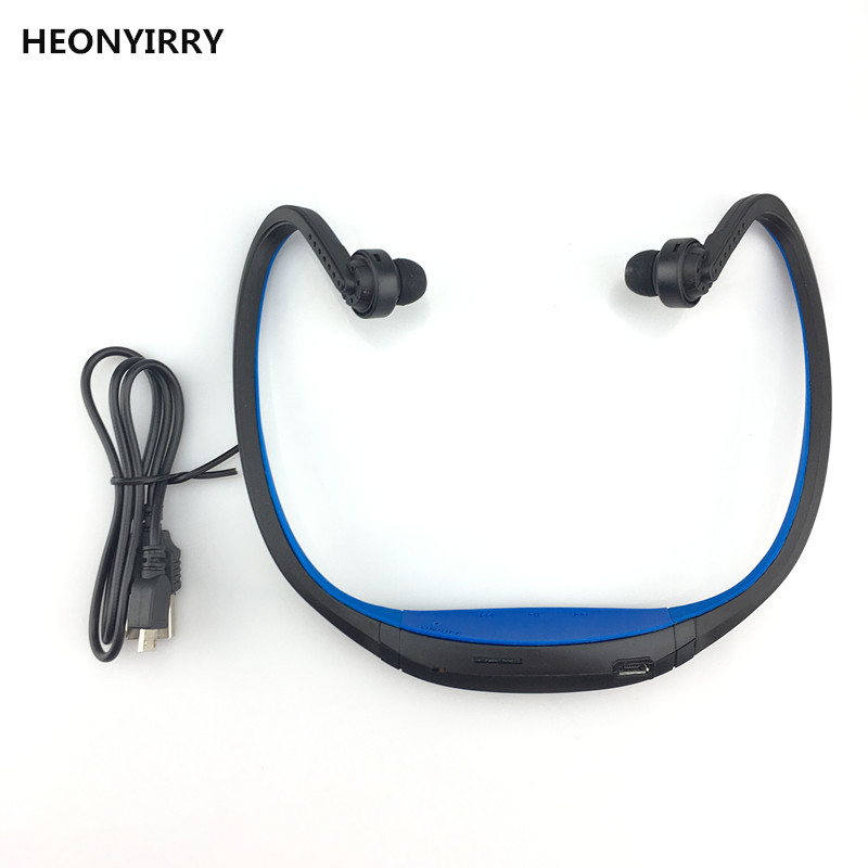 S9 Bluetooth Headset In-ear Hooking Wireless Earphone Sport Portable Headphone SD/TF Card Earbud with Microphone Music Player headphones blutooth 4 1 wireless foldable sport earphone microphone headset with tf card slot mp3 player music earphone earpiece