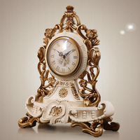 TUDA 2017 Table Clock for Sitting Room Retro Style Antique Table Clock