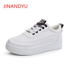 Casual Platform Shoes Woman 2018 Fashion Ladies White Sneakers Women  Flat