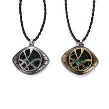 Avengers Infinity War Doctor Strange Stephen Strange Eye pendentif collier métal clé boucle Cosplay accessoires(China)