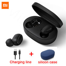 Original Xiaomi Redmi Airdots TWS Bluetooth Earphone Stereo bass BT 5.0 Eeadphones With Mic Handsfree Earbuds AI Control(China)