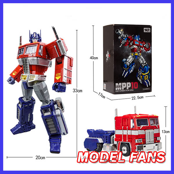 MODEL FANS Wei Jiang 33cm MPP10 MP10 Alloy metal Transformation OP G1 Commander Diecast Oversize robot action figure toy-in Action & Toy Figures from Toys & Hobbies