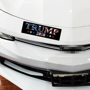 Image 3 - 10 Chiếc Trump Xe Ô Tô Trump 2020 Donald Trump Giữ Mỹ Đại Keo PVC Dán Cho Xe Hơi Tạo Kiểu Dán Trang Trí