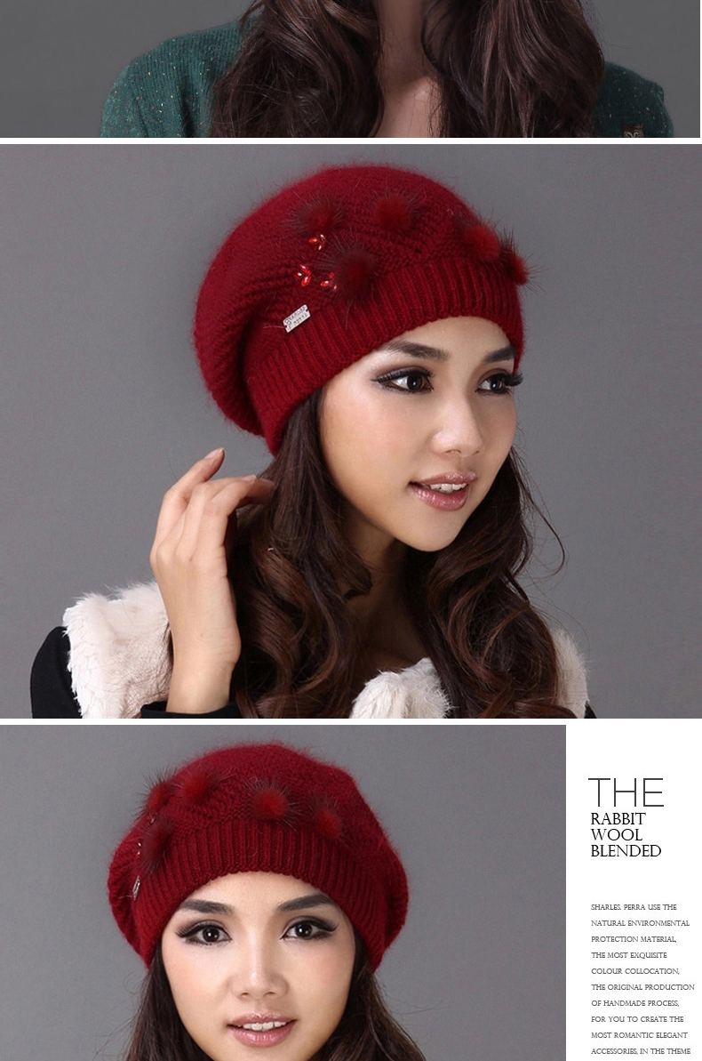 discount Hats Casual Wool 9
