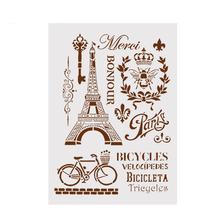 buy eiffel tower stencils and get free shipping on aliexpress com