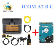 Best for BMW ICOM A2 b c with 06/2016 Rheigold ISTA isid Software ICOM A2 diagnostic & Programming tool DHL free shipping