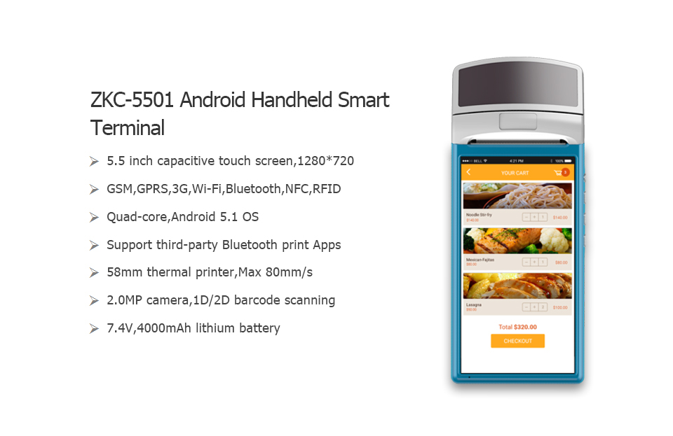 ZKC5501 Android