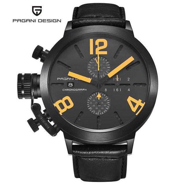 074ade96158 Design inovador exclusivo homens multifunções à prova d  água relógio de quartzo  relogio masculino militar