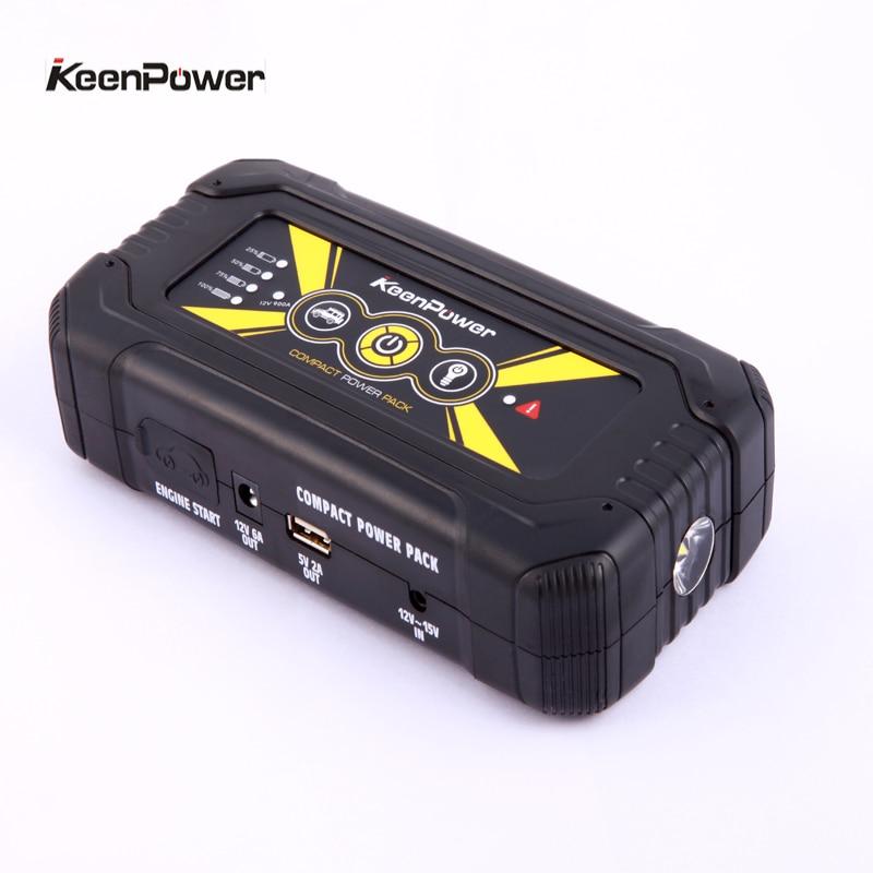Portable Mobile Emergency Car Jump Starter 18000mAh 900A Power Bank Charger For Car Battery 12V Petrol