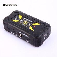 Портативный мобильный аварийного автомобиля Пусковые устройства 18000 мАч 900A Запасные Аккумуляторы для телефонов Зарядное устройство для автомобиля Батарея 12 В бензин дизельное авто