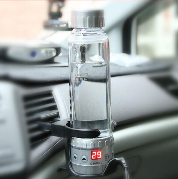 OUSHIBA 280ML 12V to 24V car electric kettles portable car electric heating cup making tea coffee and milk цены