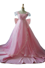 2016 сейлор мун принцесса серенити Tsukino усаги розовое платье косплей костюм сейлор мун свадебное платье