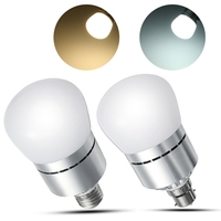 LED Lamp Bulb E27 B22 12W 2835 SMD Bayonet Dusk To Dawn Automatic On Off LED