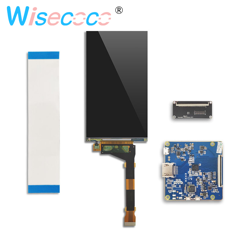 LS055R1SX04 5.5 inch 2K LCD resolution 1440 * 2560 screen display panel for video display DIY projector with drive panel