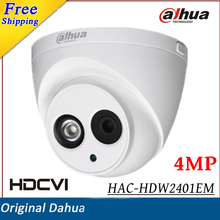 4MP Dahua HDCVI Camera WDR IR Eyeball Security Camera IR Distance 50M Indoor Outdoor IP67 Smart IR HD SD dual-output CCTV camera