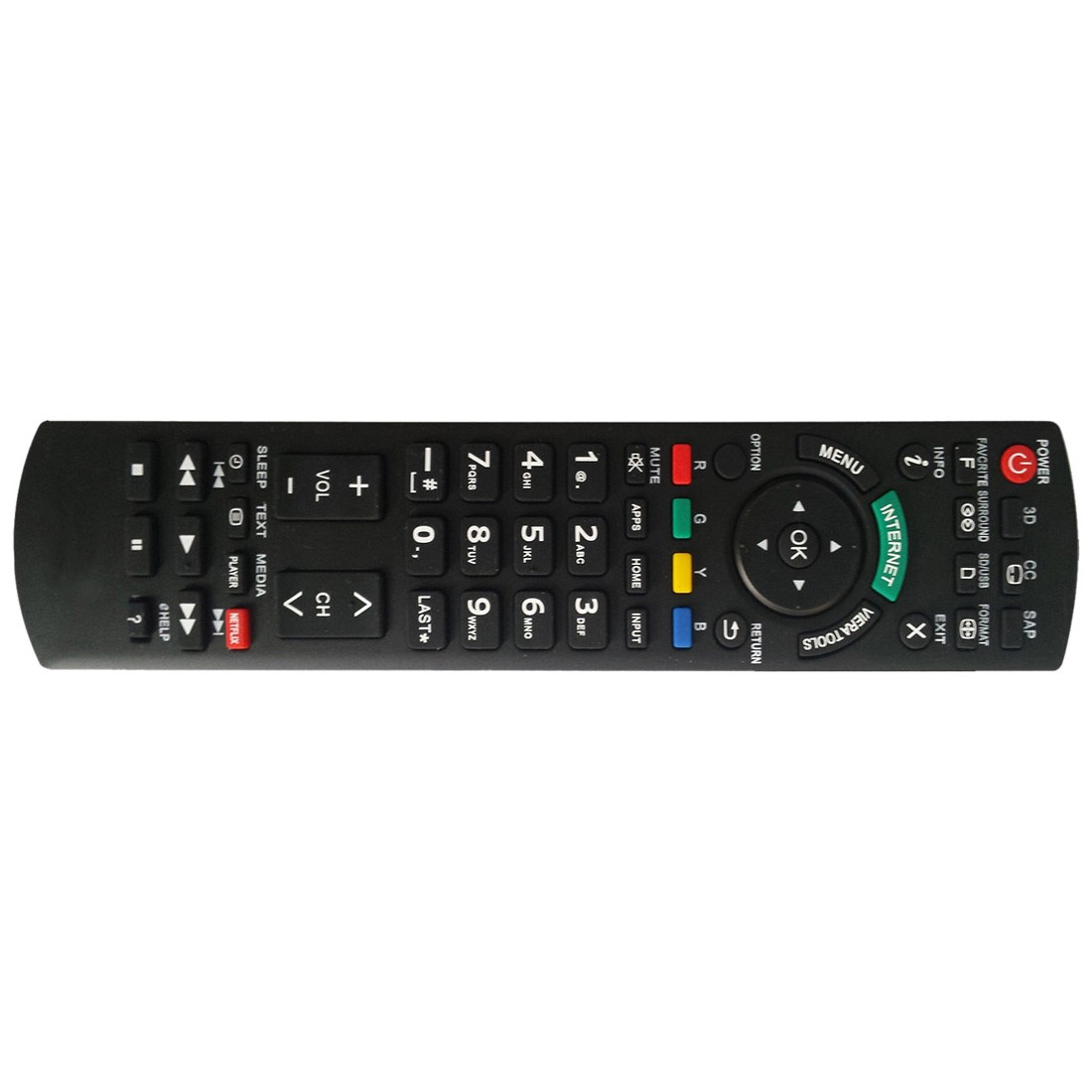 NEW TV Remote PAN-918 For Panasonic N2QAYB000485 N2QAYB000100 N2QAYB000221