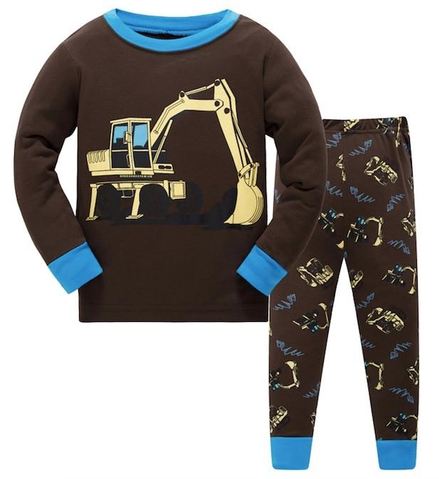 2018 Kinderen Pyjama Sets Baby Meisje En Jongens Kleding Sweet Dreams Pijamas Baby Jongens Meisjes Cartoon Lange Mouwen T- Shirt + Broek 2 Stks