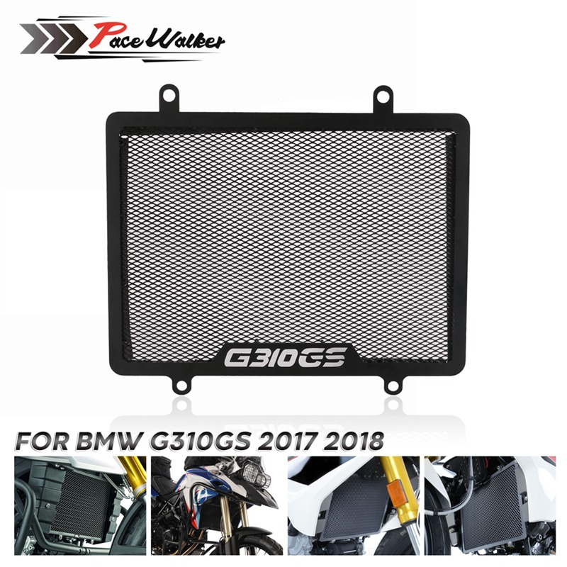 Motorcycle Aluminum Radiator <font><b>Protector</b></font> Guard Grill Cover Cooled <font><b>Protector</b></font> Cover For <font><b>BMW</b></font> G310GS <font><b>G</b></font> <font><b>310</b></font> <font><b>GS</b></font> 2017 2018 image