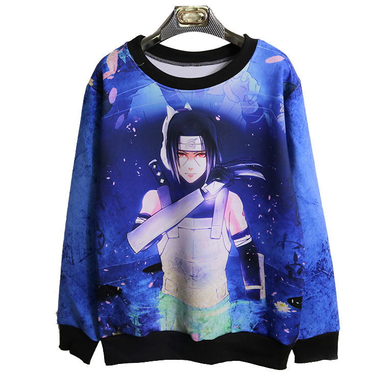 new large size 3D Hoodie Naruto anime Uchiha Itach men women Hoodies Sweatshirts 3d hoodie Sweatshirt for men H012