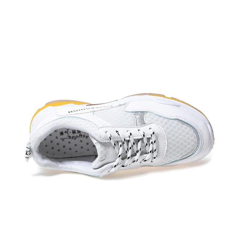Travel 40 Summer Spring Doratasia 35 2019 Black Bianco Mesh Giallo Scarpe Rosso Nero Donna Size White Brand Sneakers wSvwBq