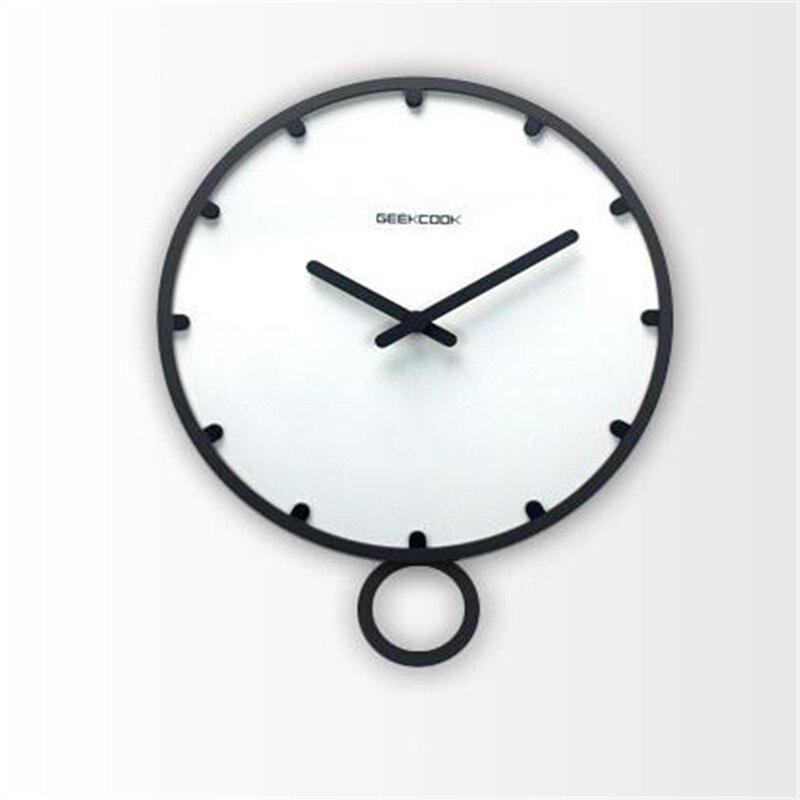 Natrliche Wanduhr Kurze Stil Holz Decor Grosse Runde Einzigartige Uhr 12 ZOLL Digitaluhr Fr