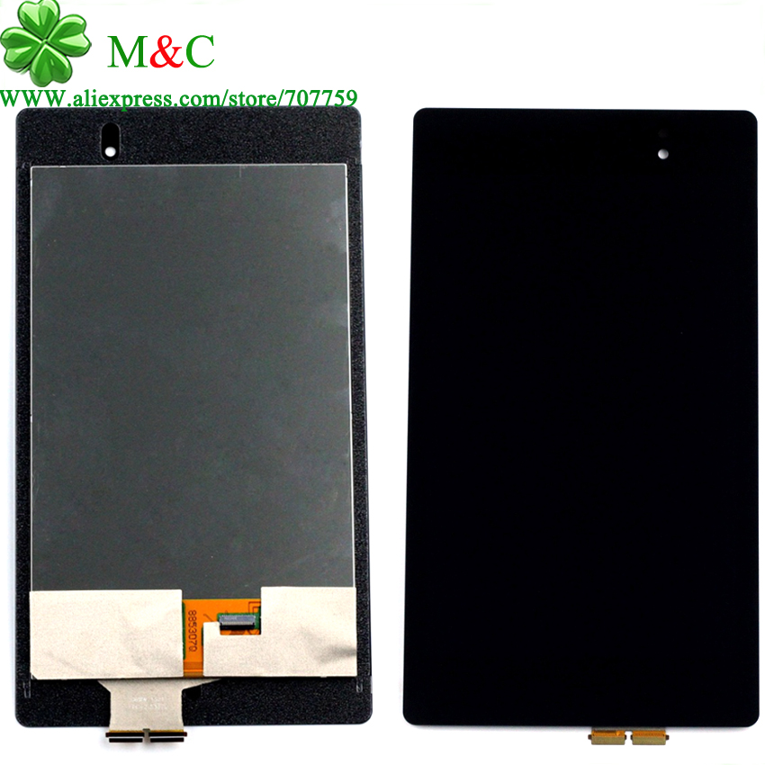 OEM ME571 LCD Touch Panel For ASUS Google Nexus 7 2nd 2013 FHD ME571 ME571K ME571KL Display Touch Screen Digitizer Assembly