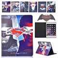 "New Cartoon Batman Superman Leather Smart Case Cover for iPad 5/air 9.7""inch Tablet PC with Touch Pen"