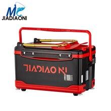 JIADIAONI 30L 5.5kg Plastic Multifunction Fishing Tackle Box