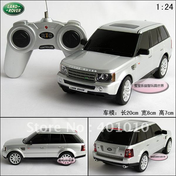 New Silver Range Rover Rc Toy Car Suv Remote Control Car Model