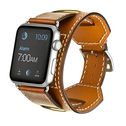 for Apple Watch Band  Genuine Leather 38mm 42mm New iWatch Band Genuine Leather Band +Adapter 38mm 42mm