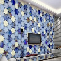 Custom Large Scale Murals European Style Art Tiles Mosaic Living Room TV Sofa Background Wall Non
