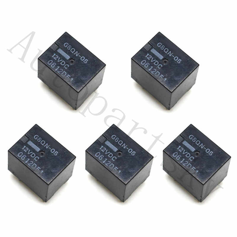 4PCS Fuel Pump Gauge Relay R303 For Ford Expedition Explorer Truck Omron F8VF-BA