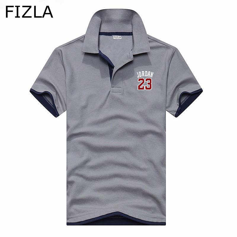 5610c9553fc ... Polo fashion Jordan 23 Polo Shirt Summer Boutique Business Casual Camisa  Polo men women Hip- ...