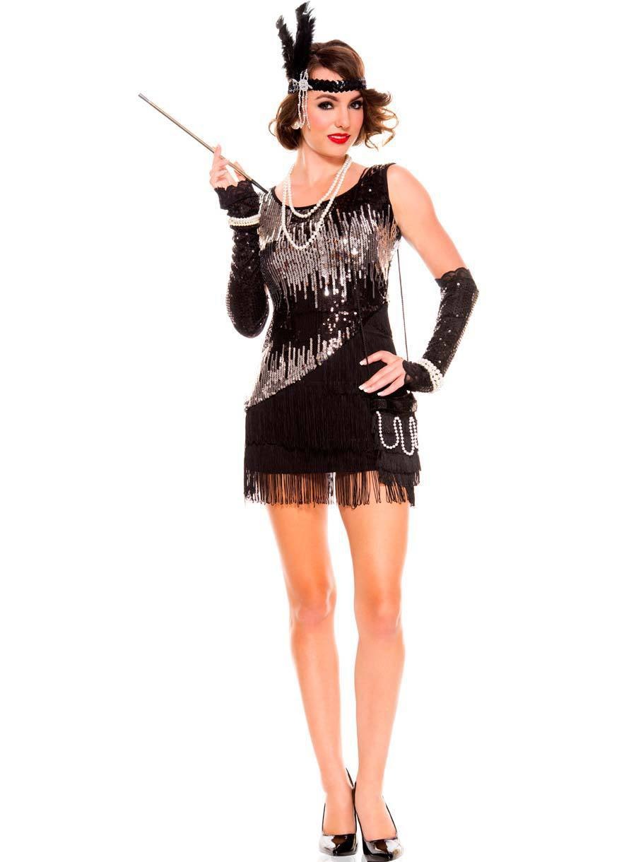 Popular Sexy Flapper Halloween Costume-Buy Cheap Sexy Flapper ...