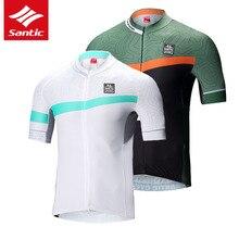 سانتيتش ملابس ركوب الدراجات للرجال أكمام قصيرة ملابس ركوب الدراجات الجبلية سريعة الجفاف ملابس ركوب الدراجات Ciclismo