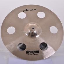 professional  DRAGON 14″ effect  cymbal,  HOLE CYMBAL for sale