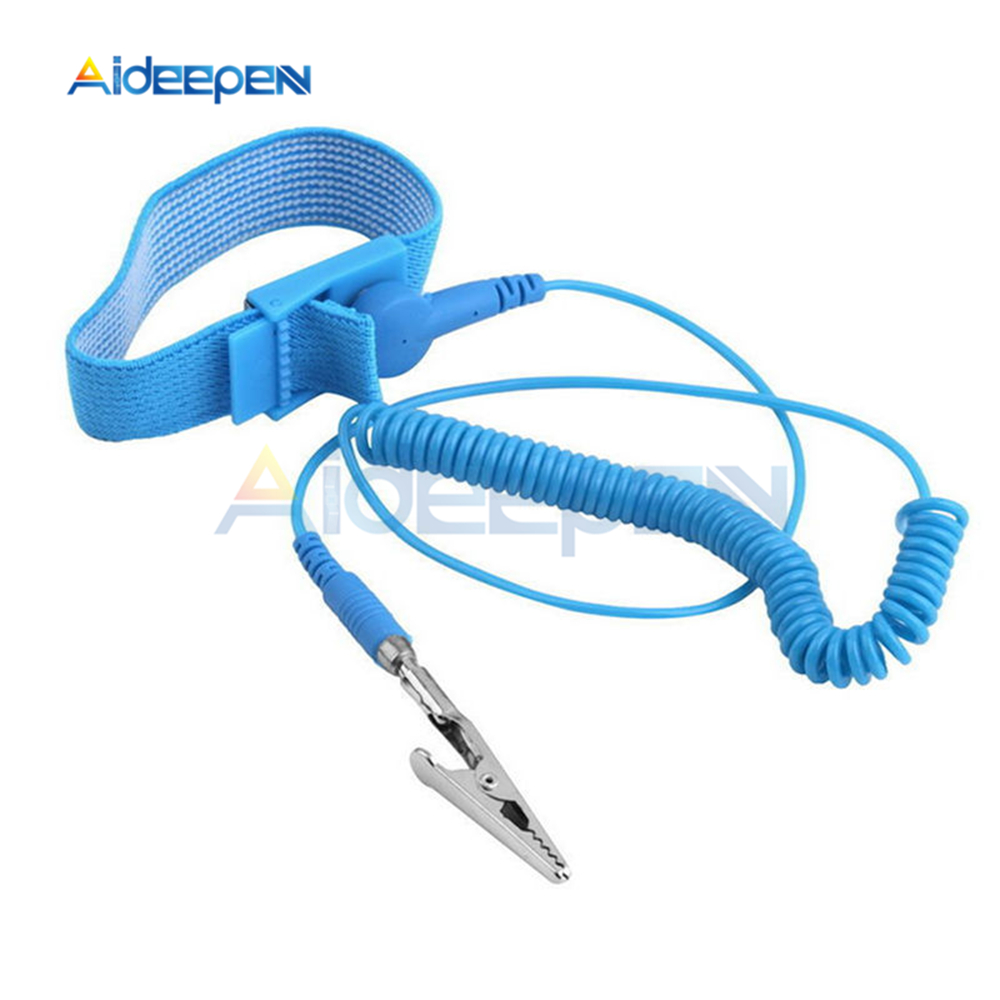 Back To Search Resultstools Able Cordless Wireless Clip Antistatic Anti Static Esd Wristband Wrist Strap Discharge Cables For Electrician Ic Plcc Worke Attractive Designs; Power Tool Accessories