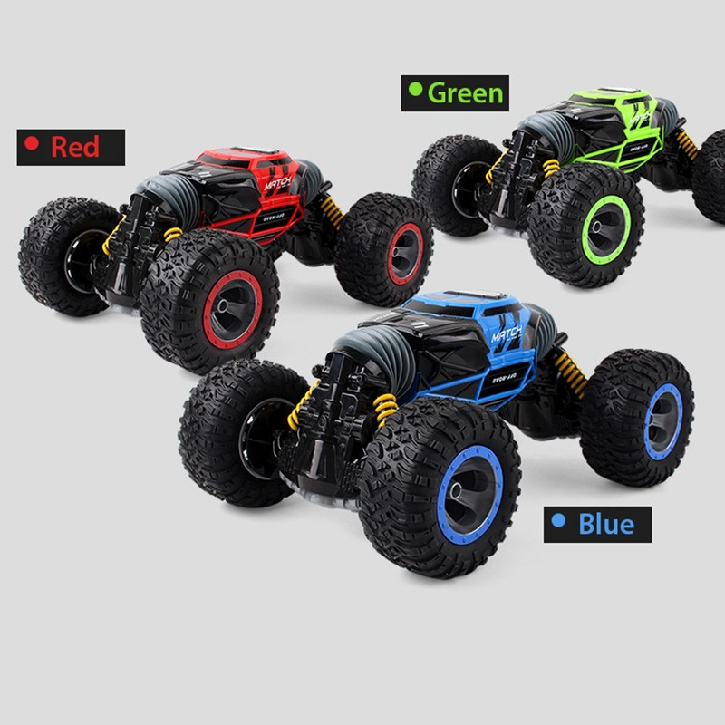 все цены на RC Car 1:16 2.4G 4WD Driving Car One Key Transformation Drive RC Toys Remote Control Cars All-terrain Off-Road Vehicle Truck Toy онлайн