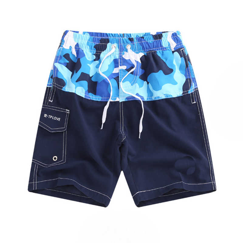 b124d7039028a 2019 Summer Quick-Dry Board Shorts Kids Hawaii Beach Shorts Boys Casual  Shorts 7-14 Yrs Children Girls Camouflage Surf Swimwear