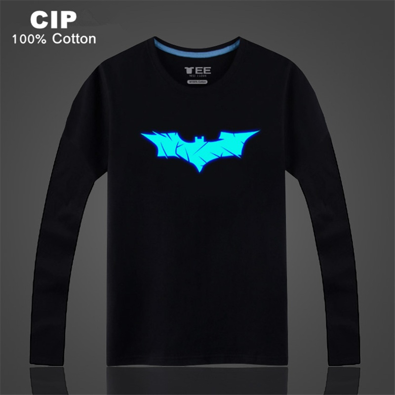 Cip 100% cotton batman tshirt kids 2017 autumn children's clothing baby boys girls t-shirt cartoon t shirt top superhero kids t-0