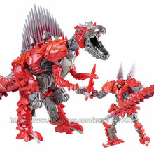 Wei Jiang Oversize 27cm Transformation 5 Dark Black Robot Alloy Dinosaur Action Figure Child