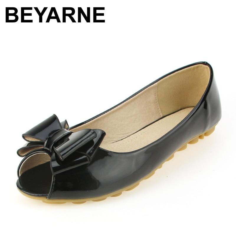 BEYARNE 4 colors fashion bow ballet