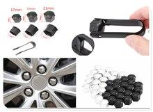20Pcs car wheel nut cap screw housing decoration 17mm 19mm 21mm for Opel Astra g/gtc/j/h Corsa Antara Meriva Zafira Insignia