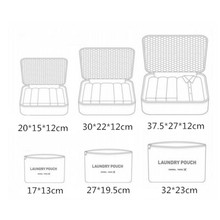 DLYLDQH Brand 6 PCS Travel Storage Bag Set For Clothes Tidy Organizer Pouch Suitcase Home Closet Divider Container Organiser