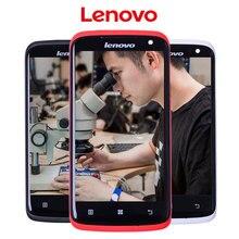 Pour Lenovo S820 Affichage S820t D'origine Nouveau Noir Blanc Rouge Pour Lenovo S820 LCD Écran Tactile Digitizer Assemblée avec Cadre