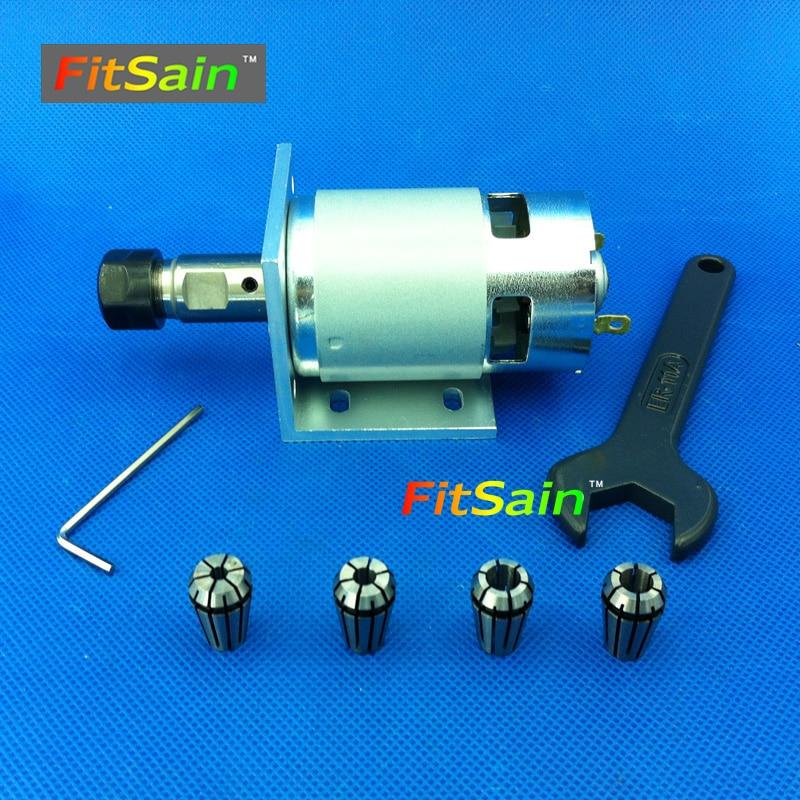 FitSain-Engraving ER11 Mandrino portapinze Set mandrino CNC da 1/8 ~ - Accessori per elettroutensili - Fotografia 2