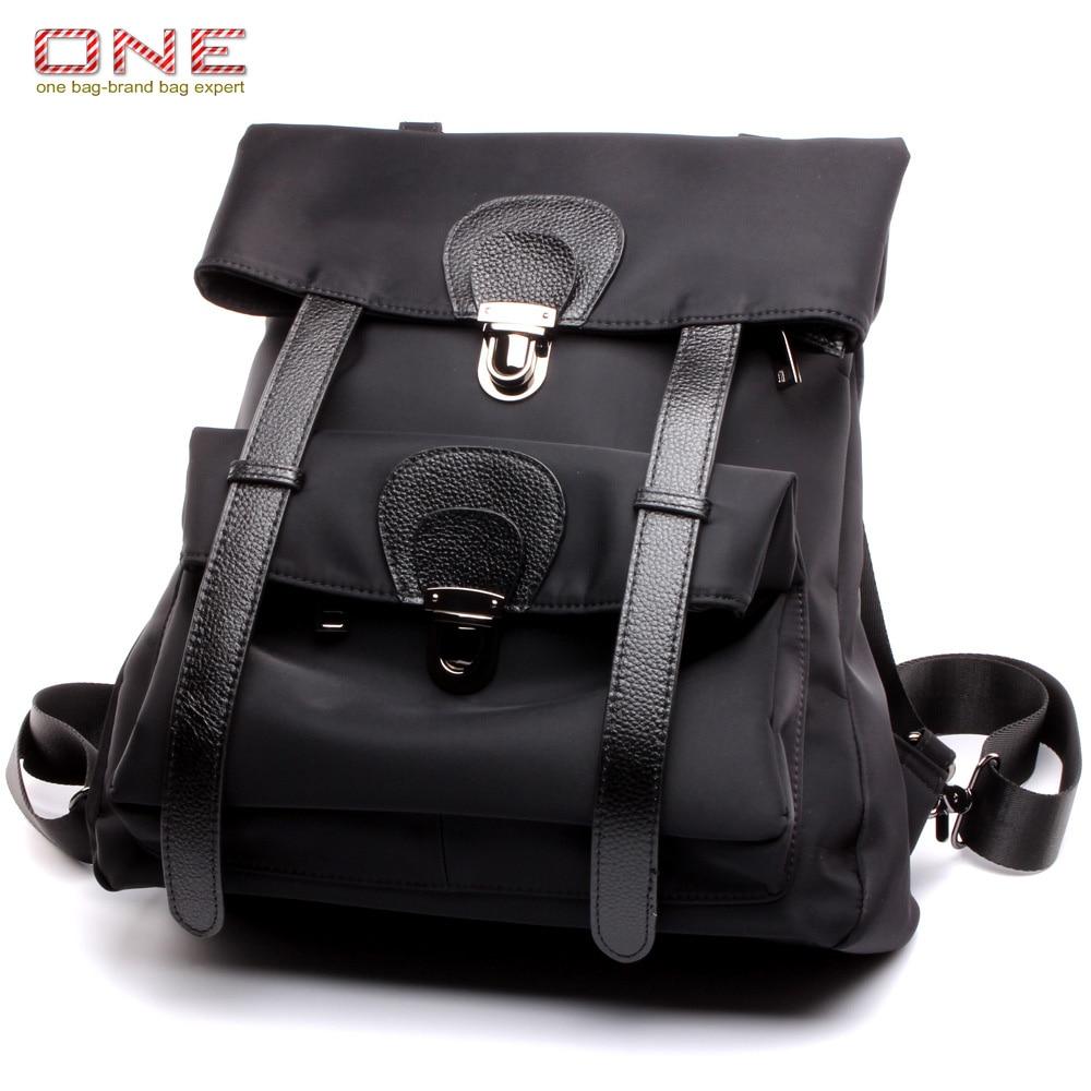 genuine leather backpack women 2016 new famous brand designer female backpacks shoulder bag PT734