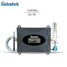 Lintratek усилитель сотовой связи 2100Mhz бустер репитер 3g усилитель звука мобильный телефон спец сигнал ретранслятор усилитель сигнала 3g репитер усилитель интернет сигнала 3G ДЛЯ ВСЕХ ОПЕРАТОРОВ