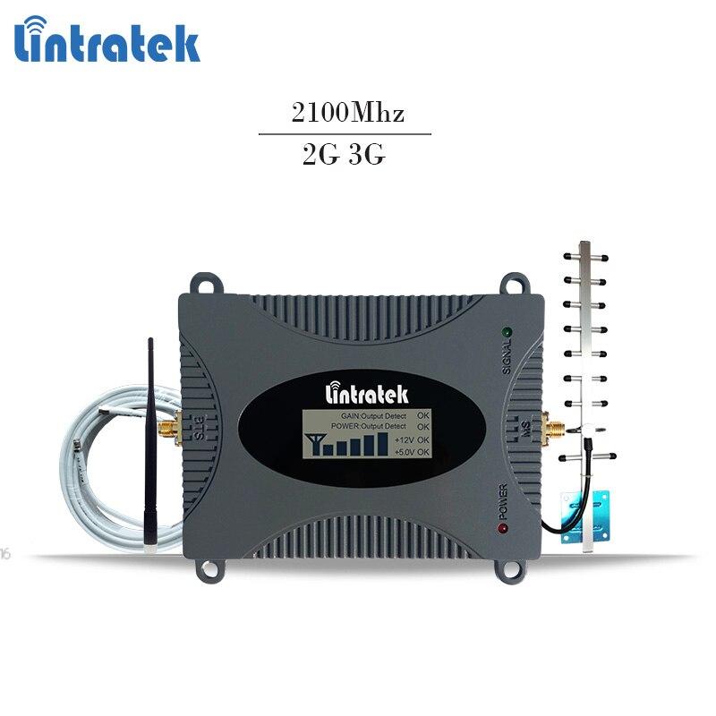Lintratek 3g signal répéteur 65dB 2100 Mhz téléphone mobile signal booster 3g amplificateur UMTS 3g booster TOUS LES OPÉRATEURS POUR LA RUSSIE #6