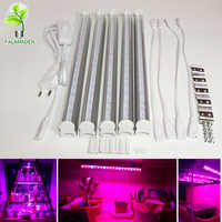 18pcs SMD5730 high efficient led grow light 660nm red & 455nm blue led lamp for seeding fruit flower potted plants and aquarium